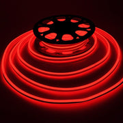 Double Side Flexing LED Neon Rope Light Red 50'