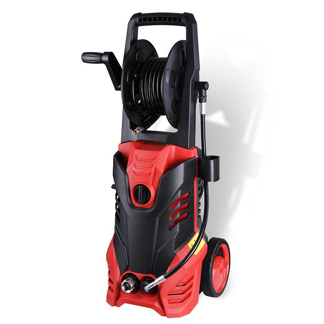 Electric Pressure Washer w/ Hose Reel Soap Tank 3000psi 1 ...
