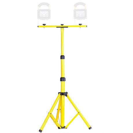Adjustable LED Flood Light Tripod Stand & T Bar