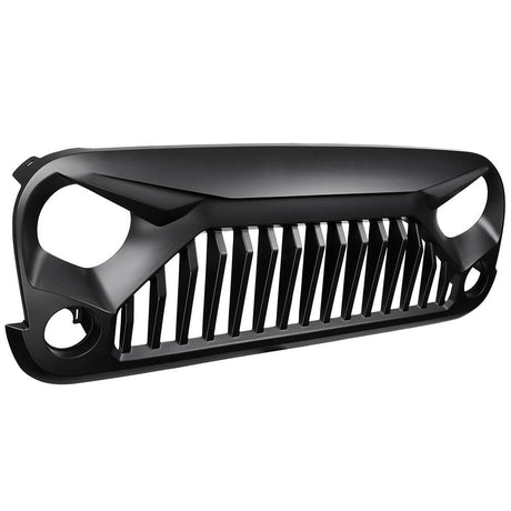 Front Guard Grille for Jeep Wrangler Rubicon Sahara Sport JK JKU 07-17