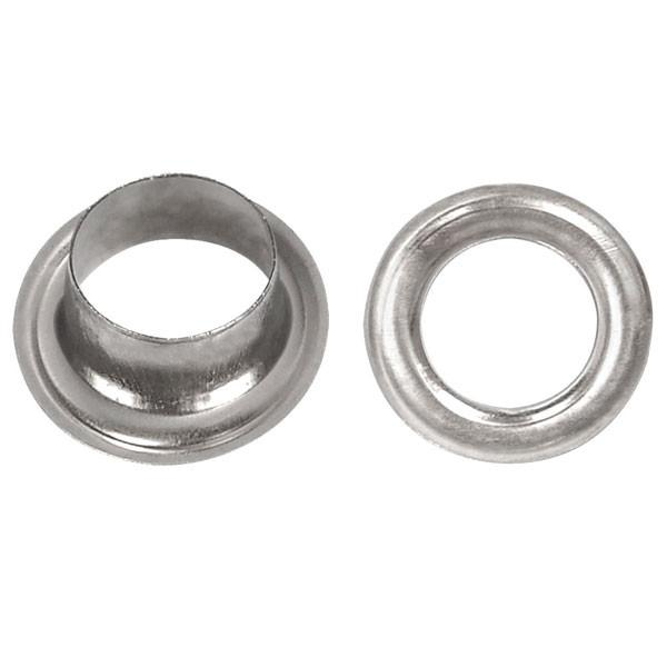 "TheDIYOutlet 1/4"" #0 Nickel Grommets and Washers Pack 2000"