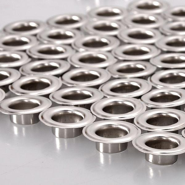 "TheDIYOutlet 3/8"" #2 Nickel Grommets and Washers Pack 1000"