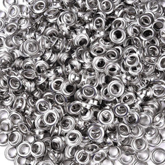10mm #2 Grommets and Washers Pack 1000 for Grommet Punch