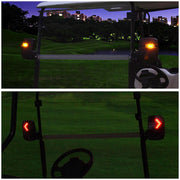 TheDIYOutlet DIY Golf Cart LED Turn Signal Side View Mirrors Set of 2