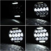 75W 7in LED Headlight Pair for Harley Jeep Wrangler