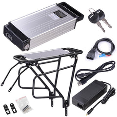 TheDIYOutlet 36v 14ah Electric Bicycle Lithium Battery Rear Rack Kit