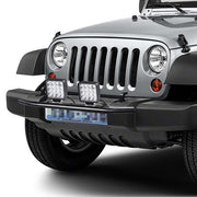 TheDIYOutlet 23-Inch Front Bumper License Plate Bracket Off-road Light Bar