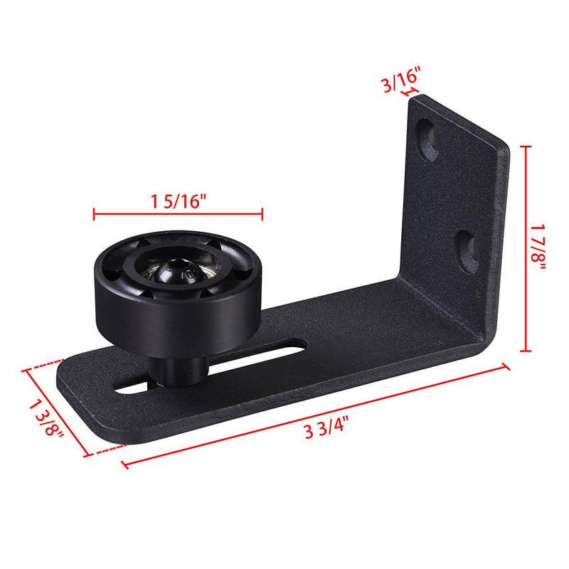 TheDIYOutlet Sliding Barn Door Wall-Mount Floor Guide Roller I