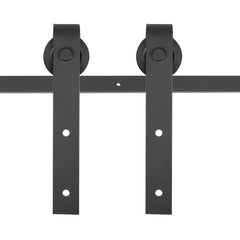 TheDIYOutlet 10' Interior Sliding Barn Double Door Hardware Set I Style