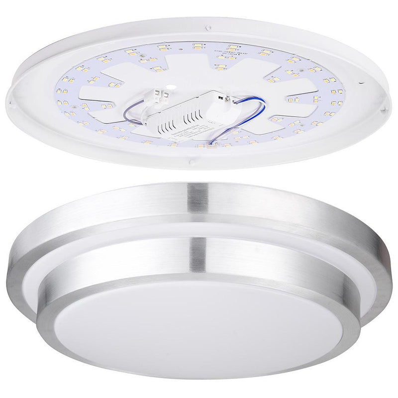 TheDIYOutlet Kitchen Ceiling Light Dimmable Round Flush Mount Remote 24W 16in