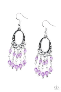 Not The Only Fish In The Sea - Purple - Earrings