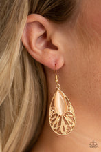 Load image into Gallery viewer, Glowing Tranquility - Gold - Earrings