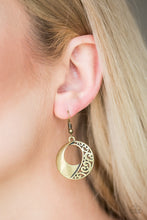 Load image into Gallery viewer, Eastside Excursionist - Brass - Earrings