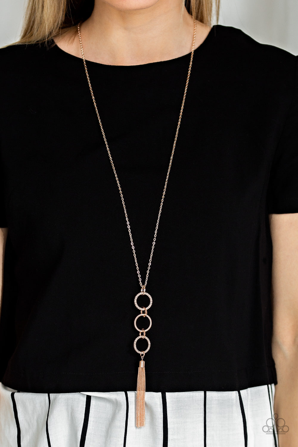 Diva In Diamonds - Rose Gold - Necklace