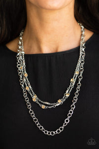 Metro Mixer - Brown - Necklace