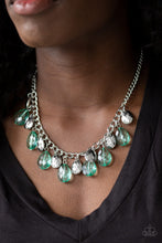 Load image into Gallery viewer, No Tears Left To Cry - Green - Necklace