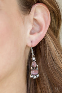 Push Your LUXE - Purple - Earrings