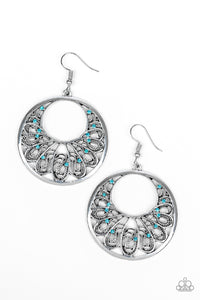 Fancy That - Blue - Earrings
