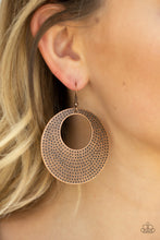 Load image into Gallery viewer, Dotted Delicacy - Copper - Earrings