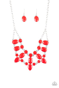 Goddess Glow - Red - Necklace