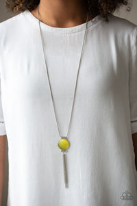 Happy As Can BEAM - Yellow - Necklace