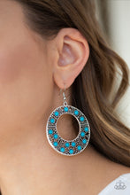 Load image into Gallery viewer, San Diego Samba - Blue - Earrings