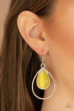 Load image into Gallery viewer, Color Me Cool - Yellow - Earrings
