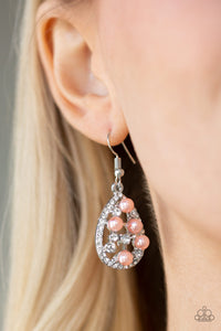 Faulously Wealthy - Orange - Earrings
