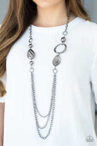 Rebels Have More Fun - Black - Necklace