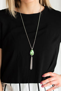 Elite Shine - Green - Necklace