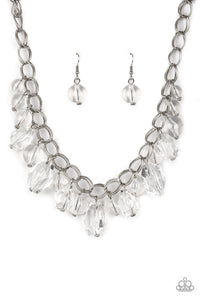 Gorgeously Globetrotter - White - Necklace