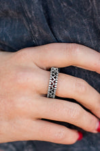 Load image into Gallery viewer, Thunder and Lightning - Silver - Ring