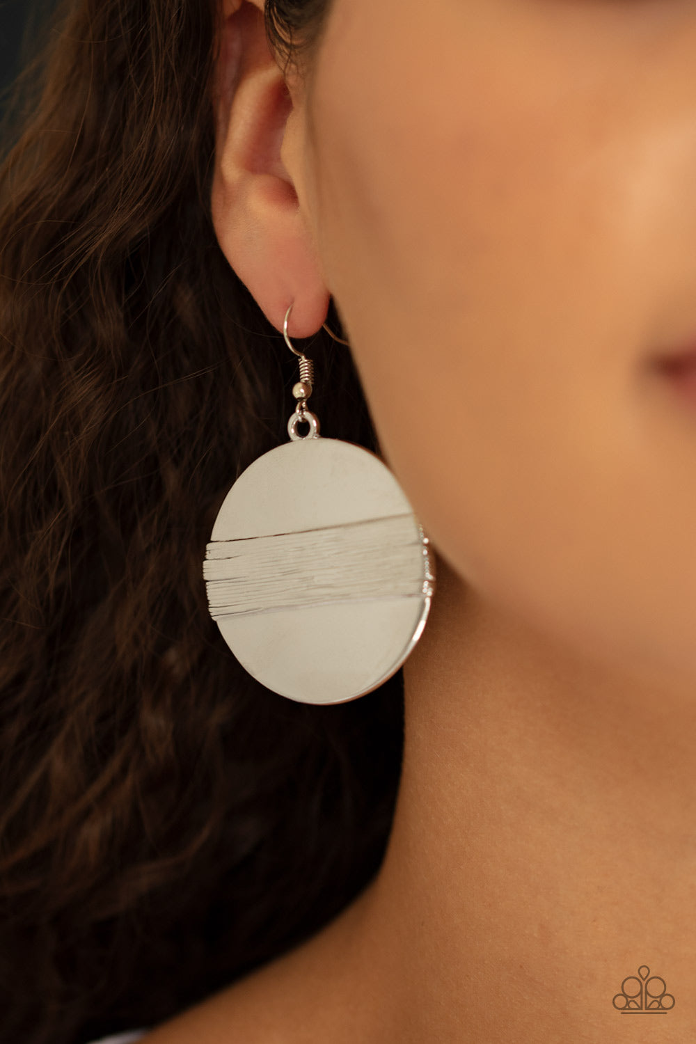 Ultra Uptown - Silver - Earrings