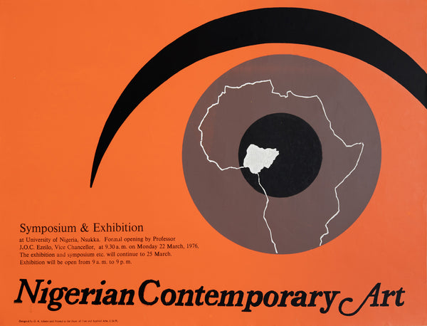 Nigerian Contemporary Art poster by George Adams