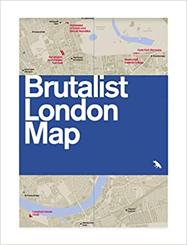 Map - Brutalist London