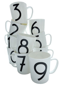 Isokon Gallery number mug 5