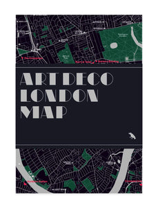 Map - Art Deco London