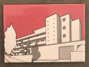 Isokon fridge magnet