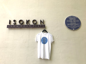 English Heritage blue plaque Bauhaus T-shirt