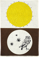 Load image into Gallery viewer, Lucienne Day tea towel Night And Day