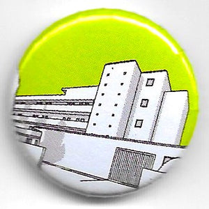 Lapel badge Isokon green