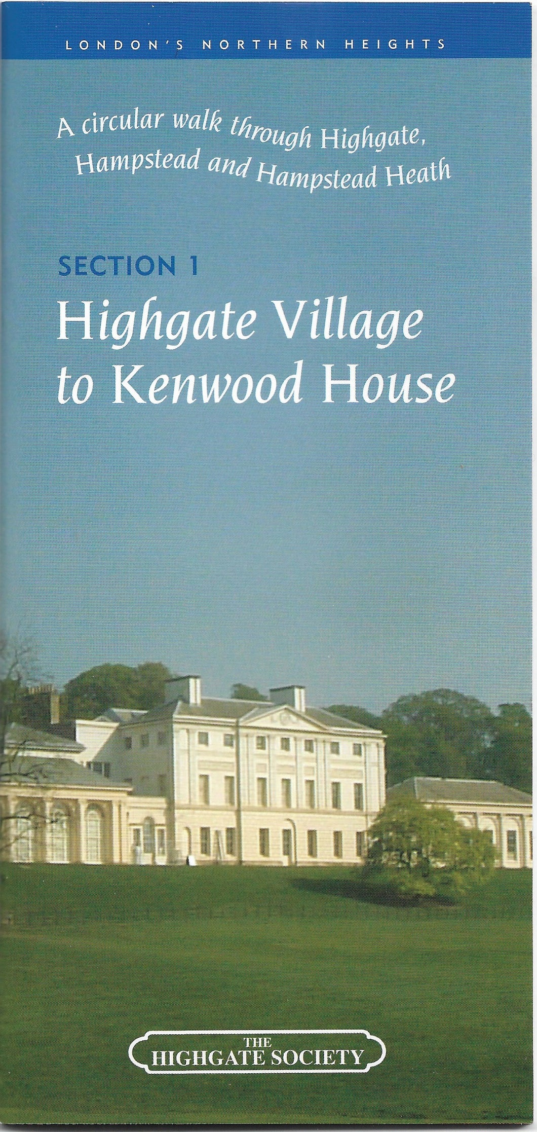 Guide - (1) Highgate Village to Kenwood House