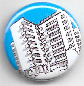 Lapel badge Highpoint blue
