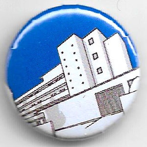 Lapel badge Isokon navy blue
