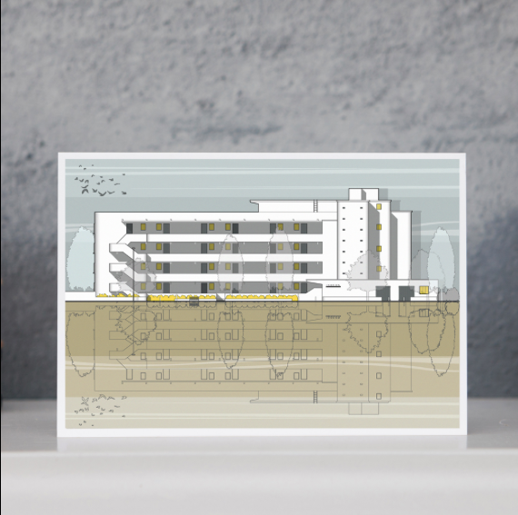 Greeting card - Isokon
