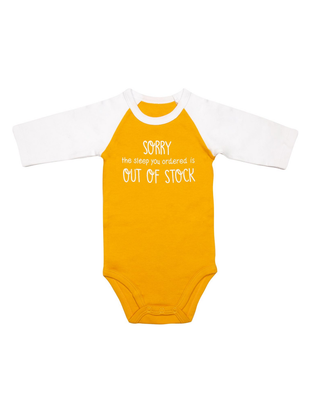 Out of Stock Onesie