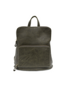 Alyssa Distressed Backpack - Olive