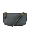 Mini Crossbody Wristlet Clutch - Dark Chambray