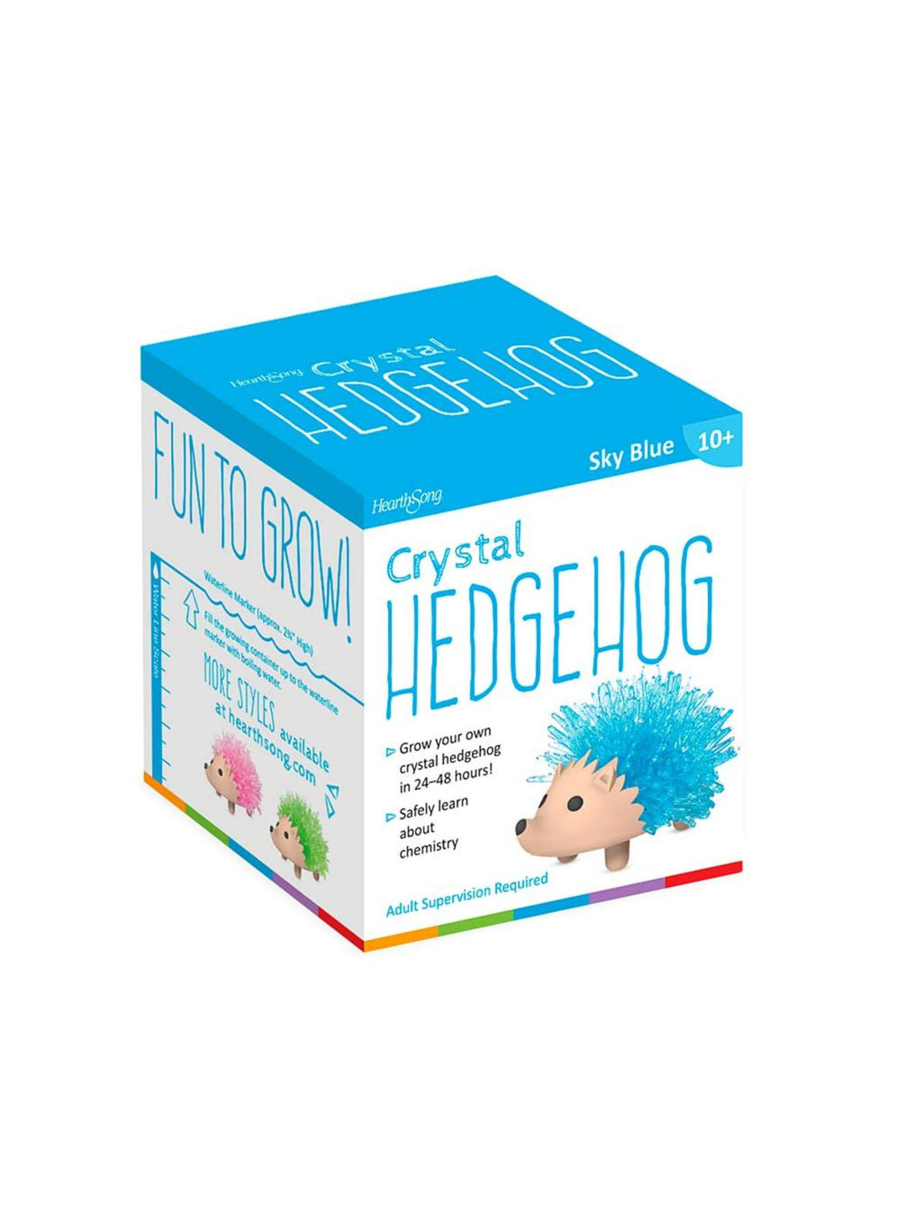 Grow Your Own Crystals Kit - Hedgehog