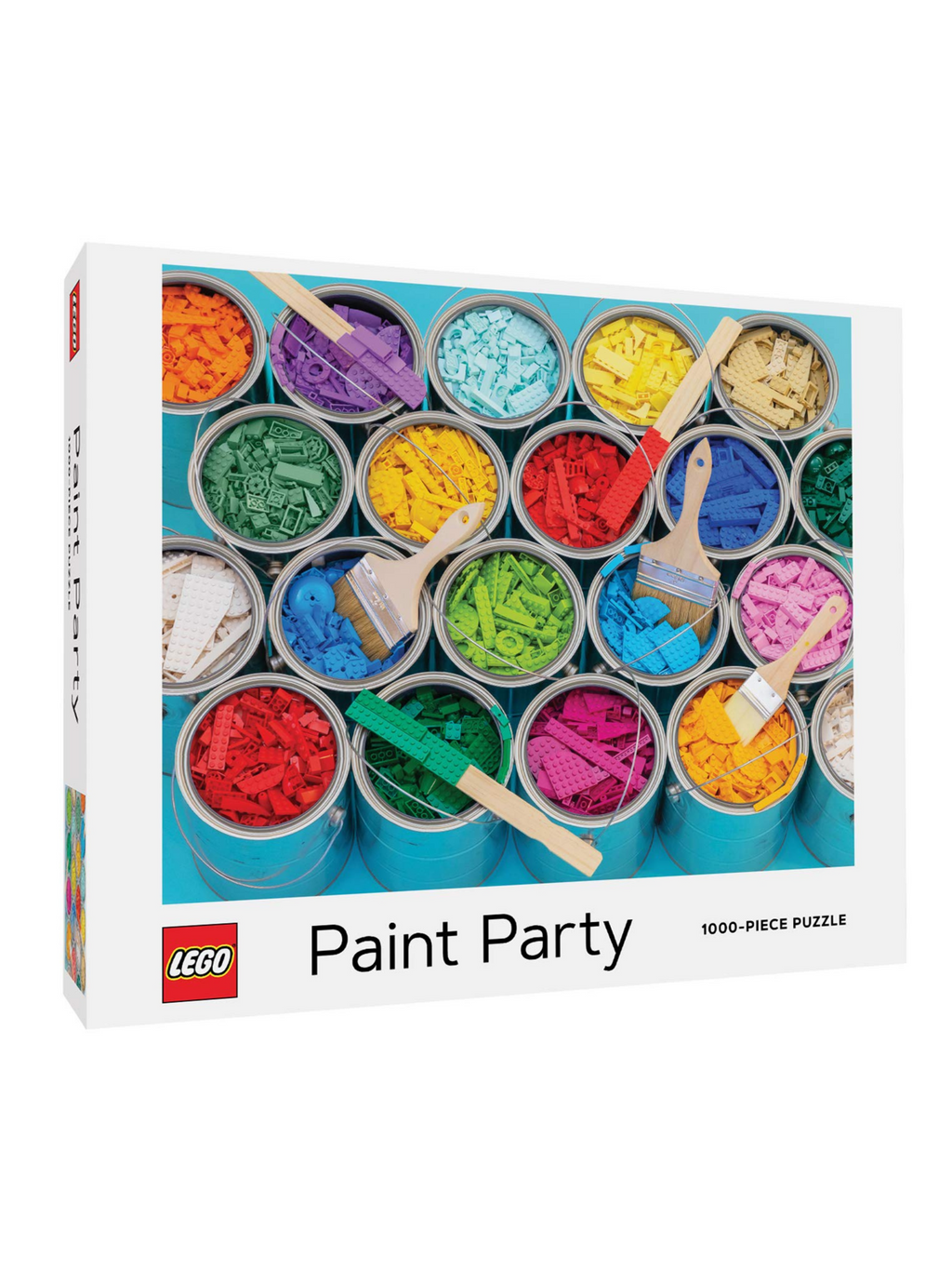 Lego Paint Puzzle - 1000pc.